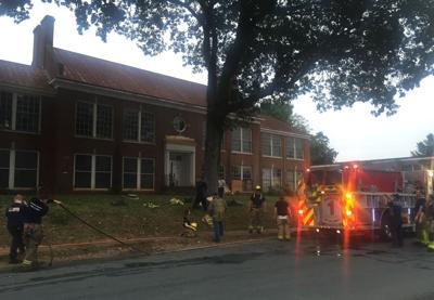 Fire Crews Respond To Incident At Old School Building In Madison