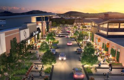 River Ridge mall rendering