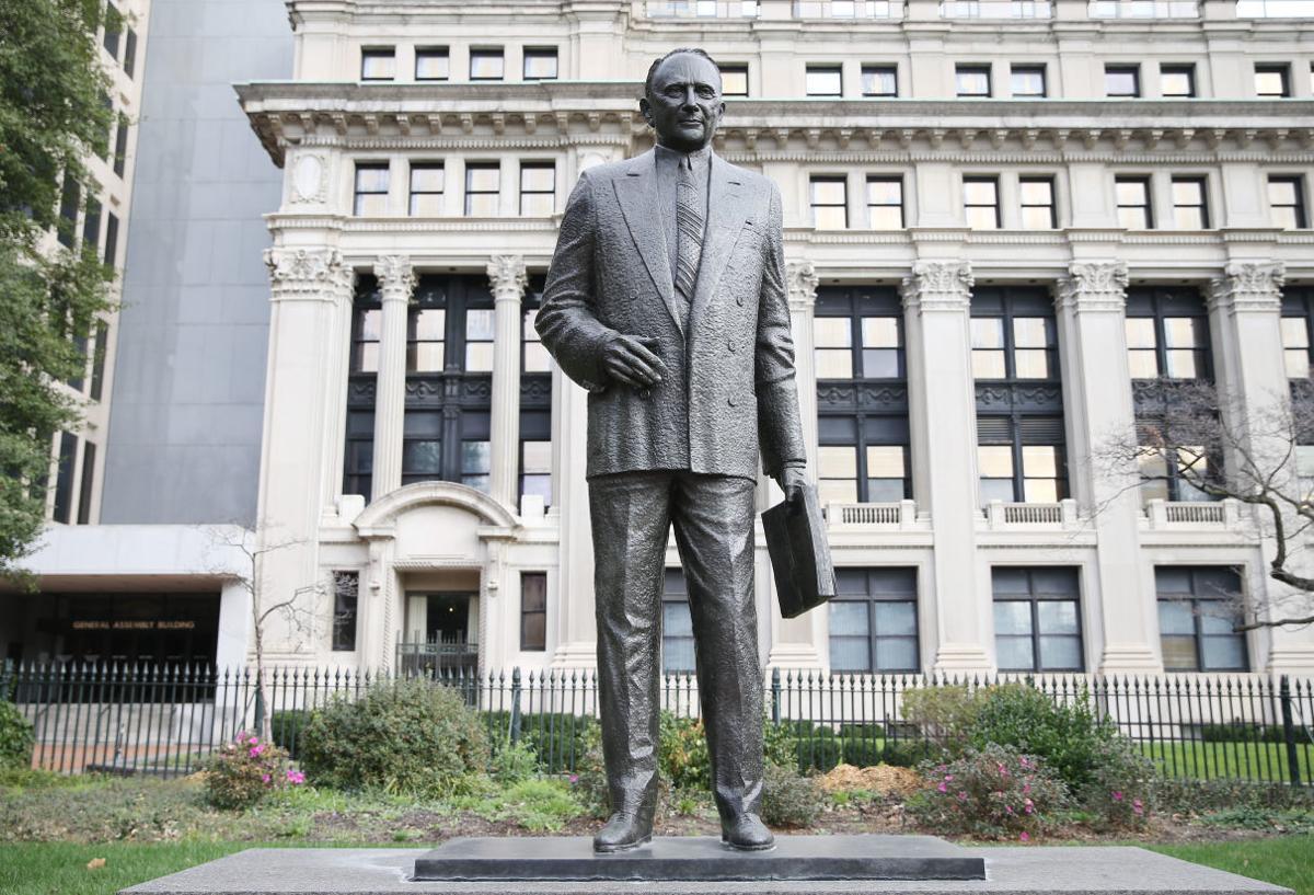 Harry Flood Byrd Sr. Statue