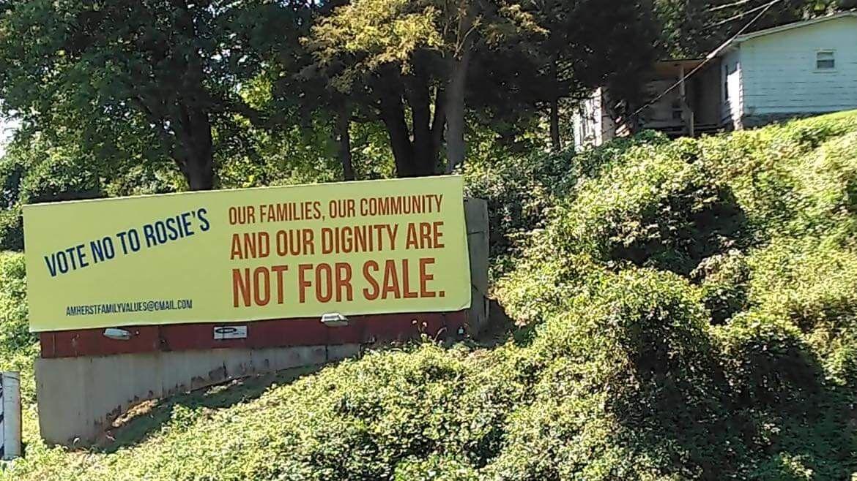 Rosie's billboard