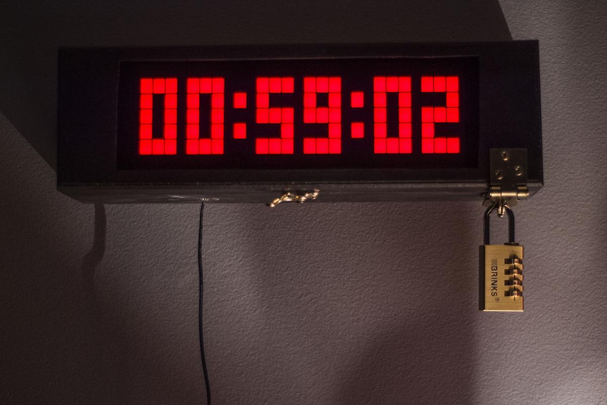 Escape Room Lock Clock