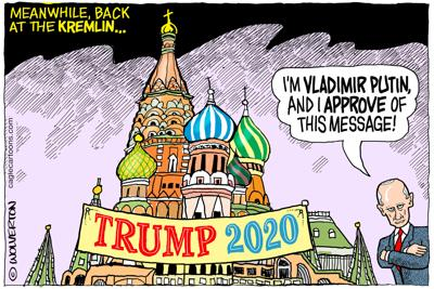 Meanwhile Back at the Kremlin ...