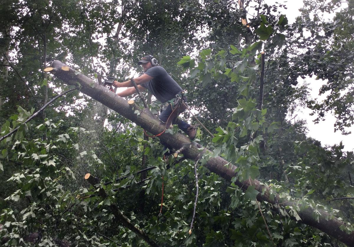 Residents recover from last week's thunderstorms