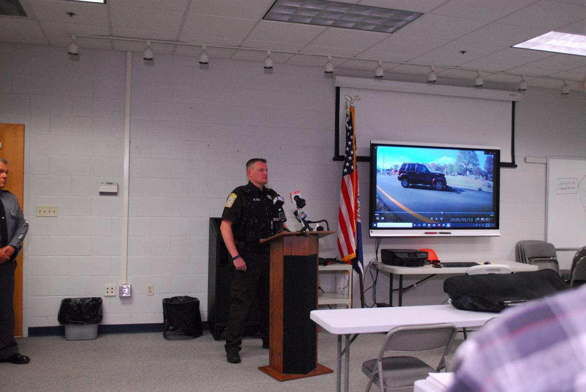 Bedford County Sheriff's Department press conference - Deputy Brian Ellis