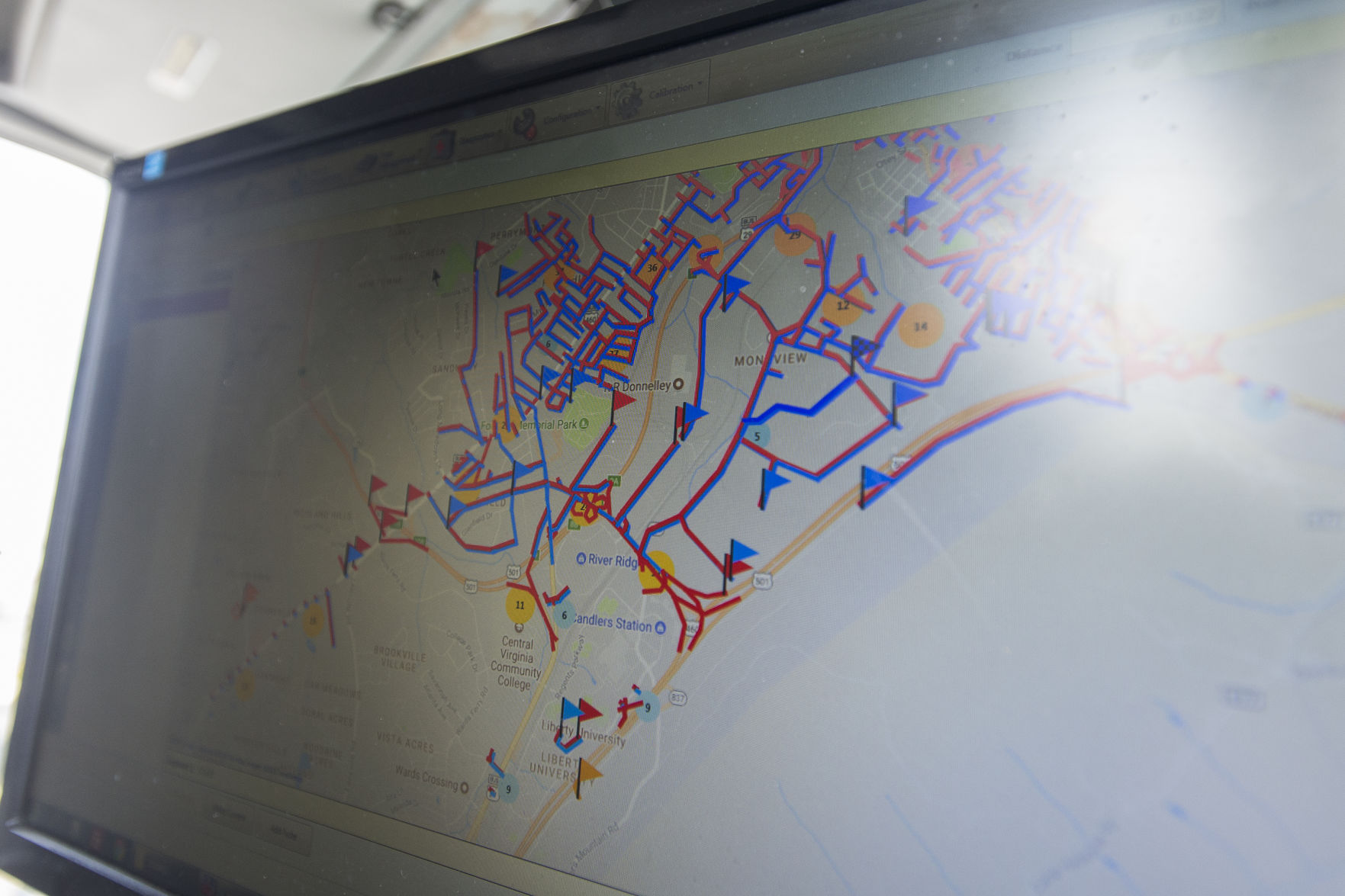 High tech vans give city streets a data driven