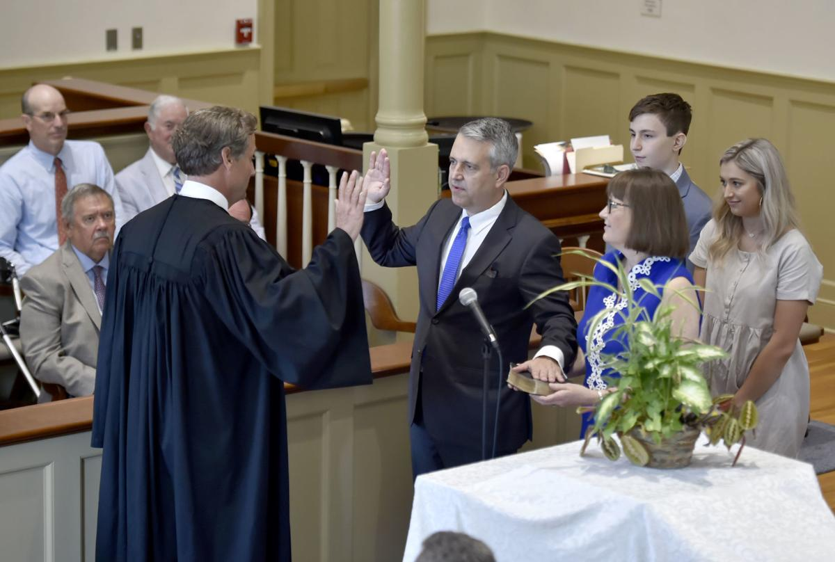 Judge J. Frederick Watson Investiture 1
