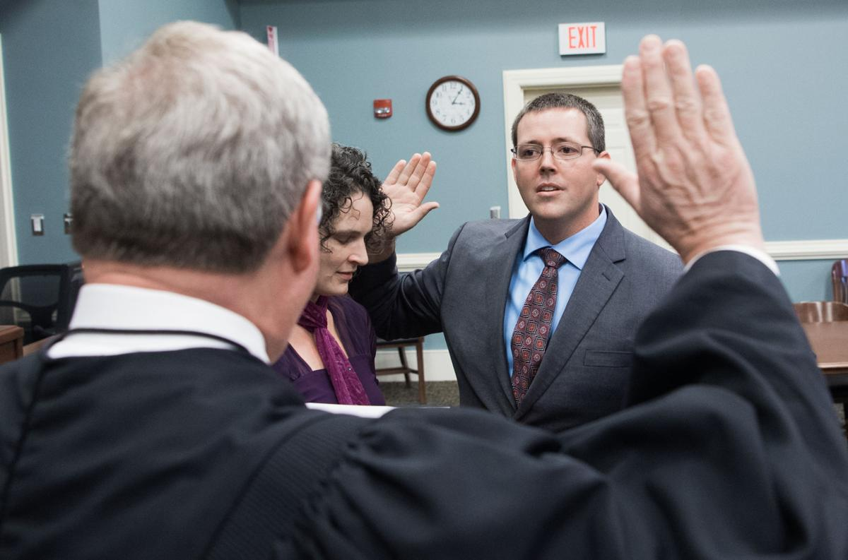 Rutherford sworn in as commonwealth's attorney | Nelson ...