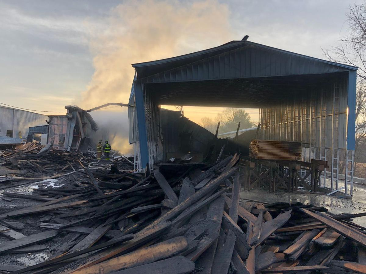 Cause of Nelson lumber yard fire traced to outdoor ...