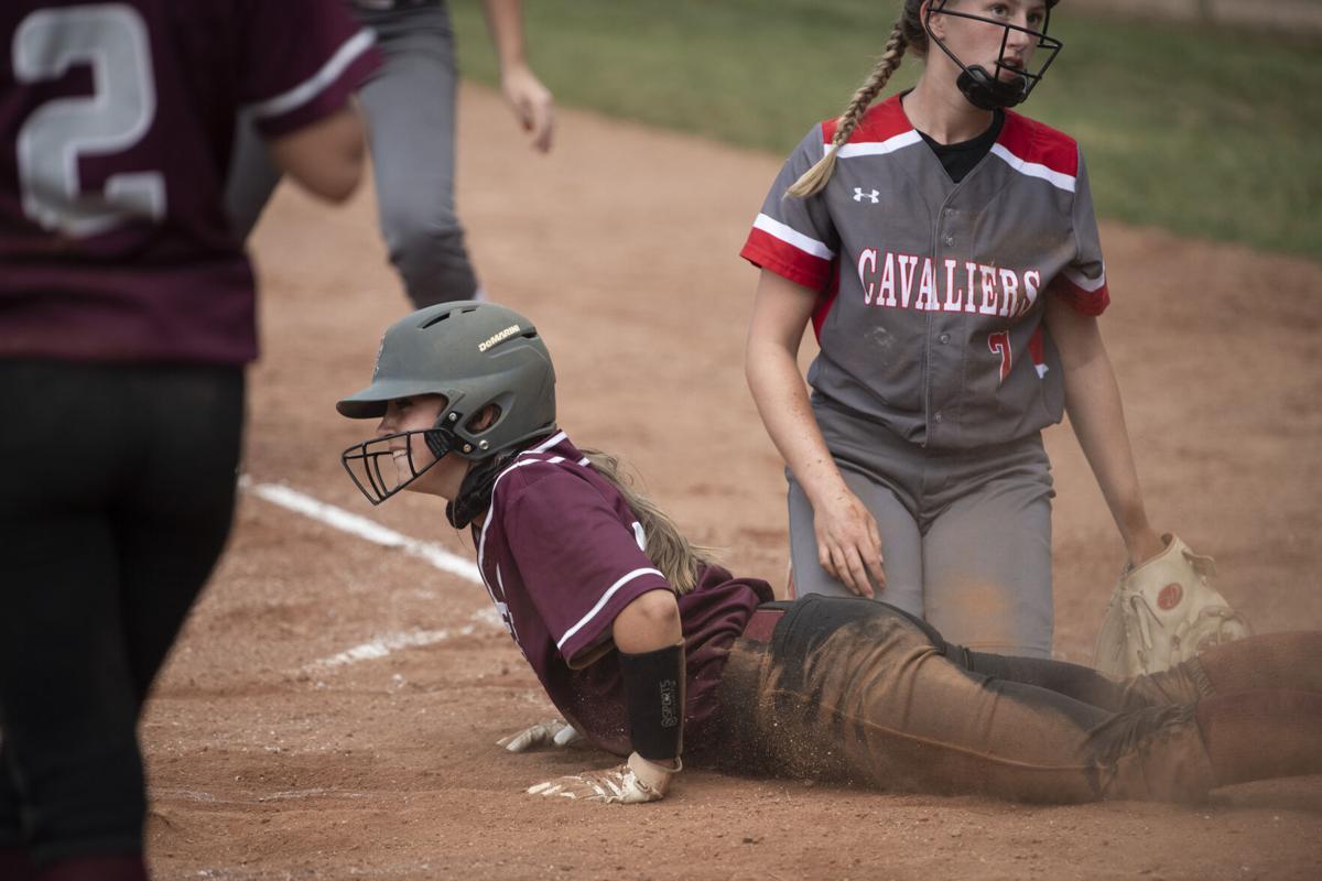 JV softball, 1