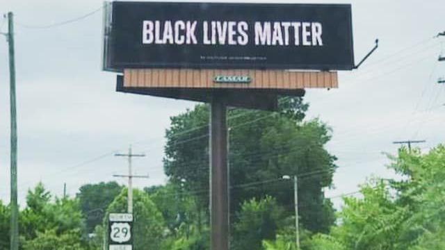Black Lives Matter billboard offers message of hope to marginalized in Lynchburg