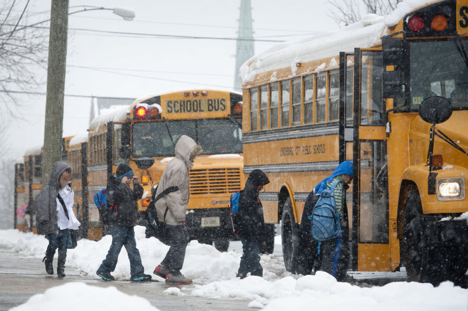 Some schools closed Wednesday; drivers urged to continue to use caution on  roadways