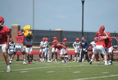 Liberty Flames Football Practice 12