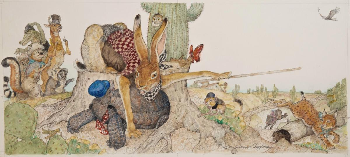 Jerry Pinkey - tortoise and hare