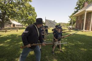 Civil War Camp gives children glimpse into history in Appomattox