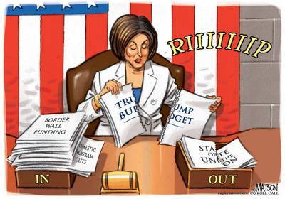 Pelosi Rips the Budget