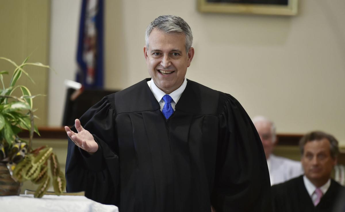 Judge J. Frederick Watson Investiture 2
