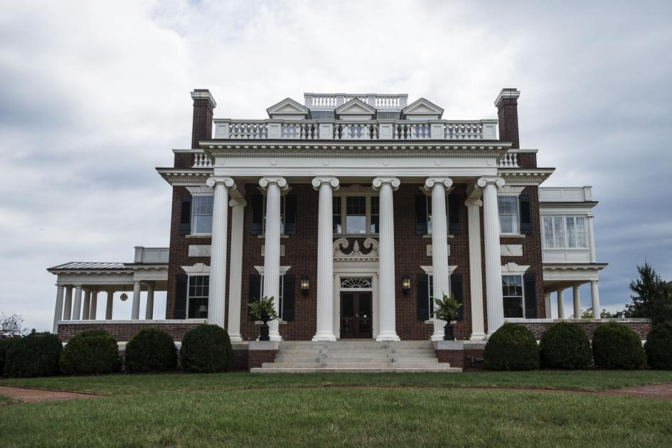 Villa maria historic rivermont avenue home an 39 iconic for Home builders lynchburg va