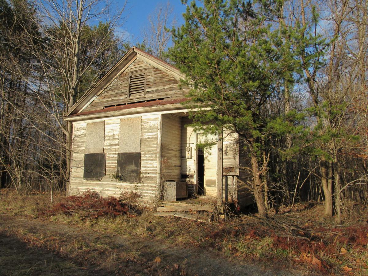 Old schoolhouse on Hendricks Store Road