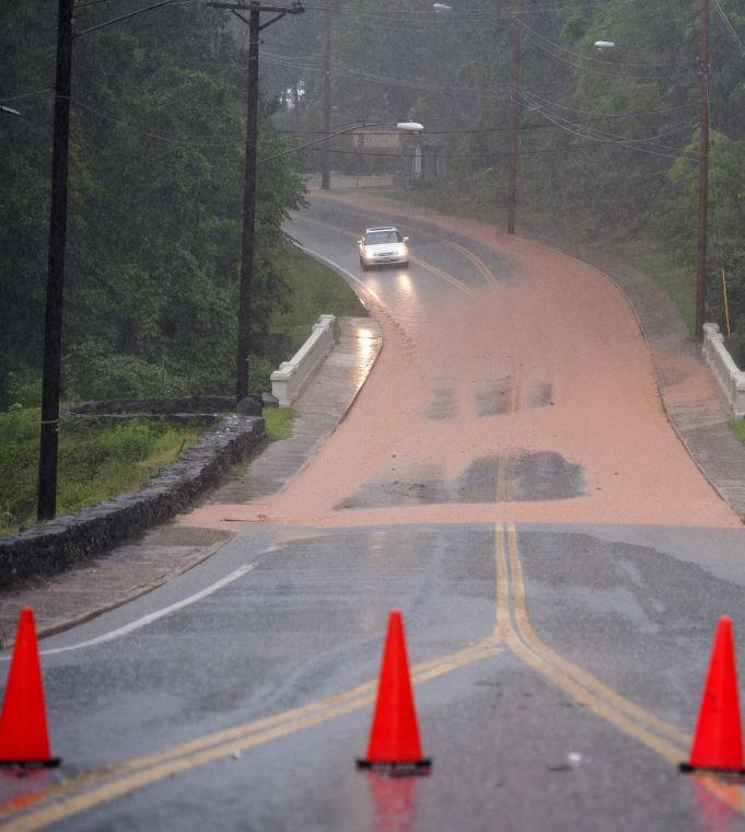 Streets, Basements Flood In Heavy Rains In Lynchburg