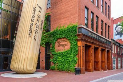 The Hillerich& Bradsby Company Louisville Slugger Museum& Factory in downtown Louisville, Kentucky, on June 5, 2016.