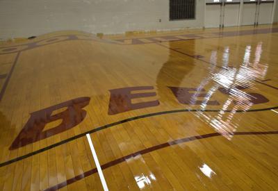 LNA 08242018 Brookville Warped Gym Floor01