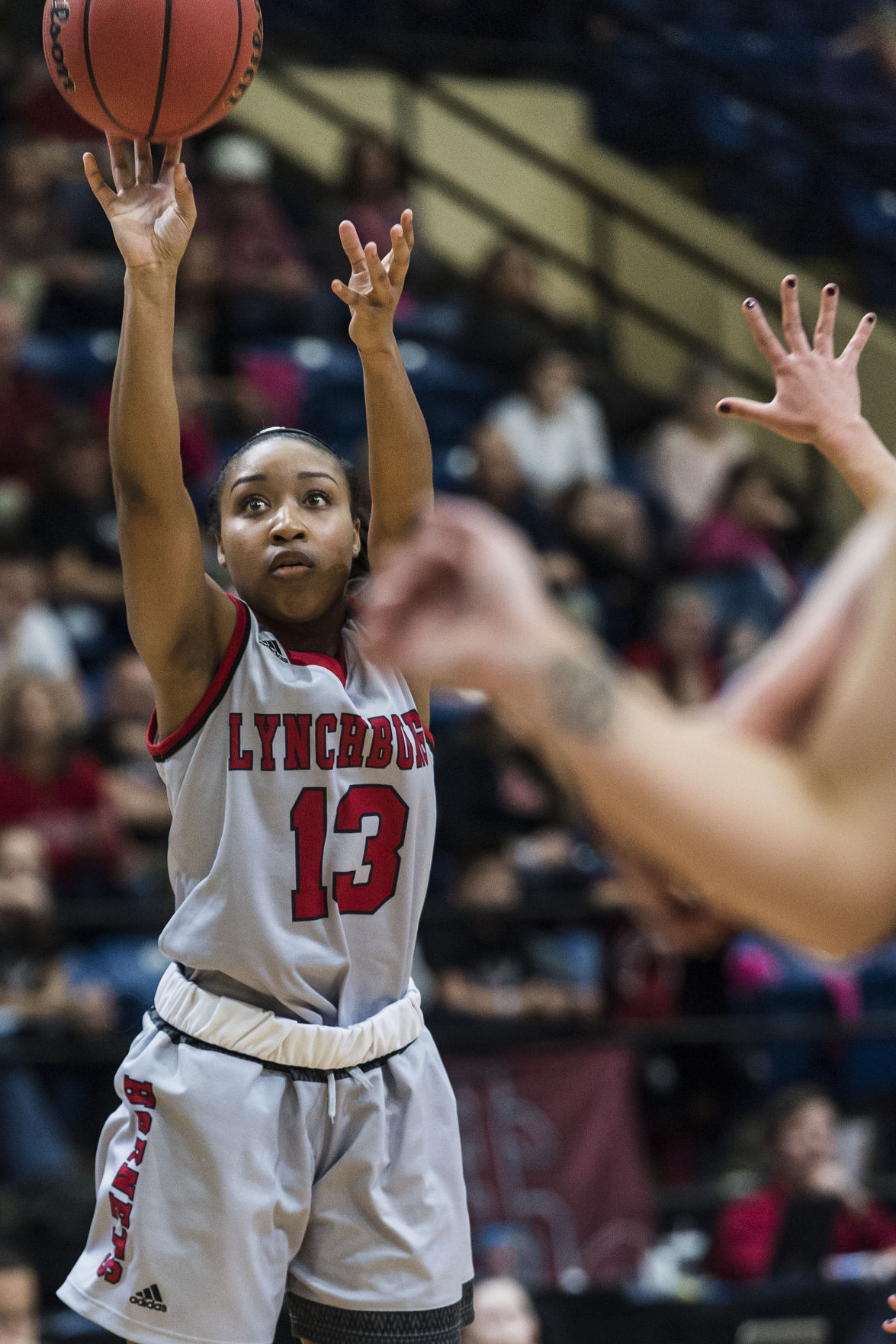Hairston finds happiness at Lynchburg College