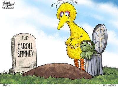 Tears for Big Bird