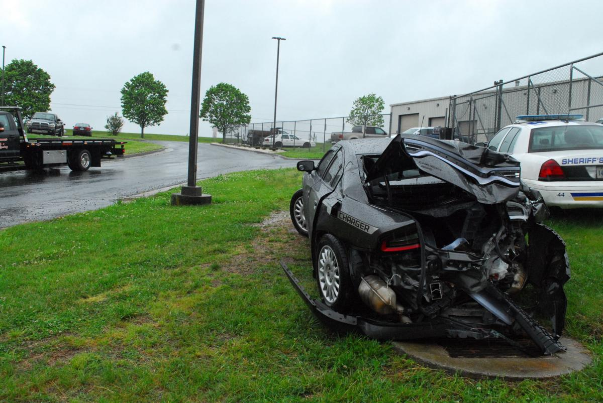 Bedford County police vehicle damage