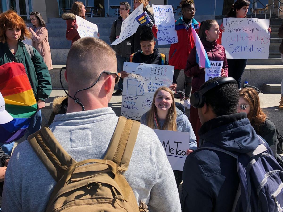 LU student protest