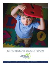 Image result for 2017 childrens budget report