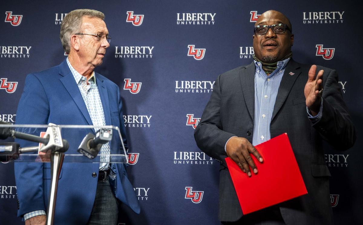 Liberty University press conference