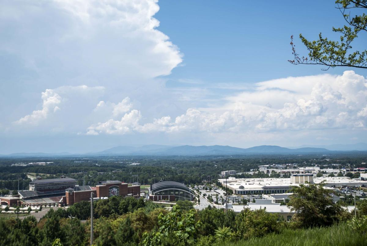 Liberty University from above