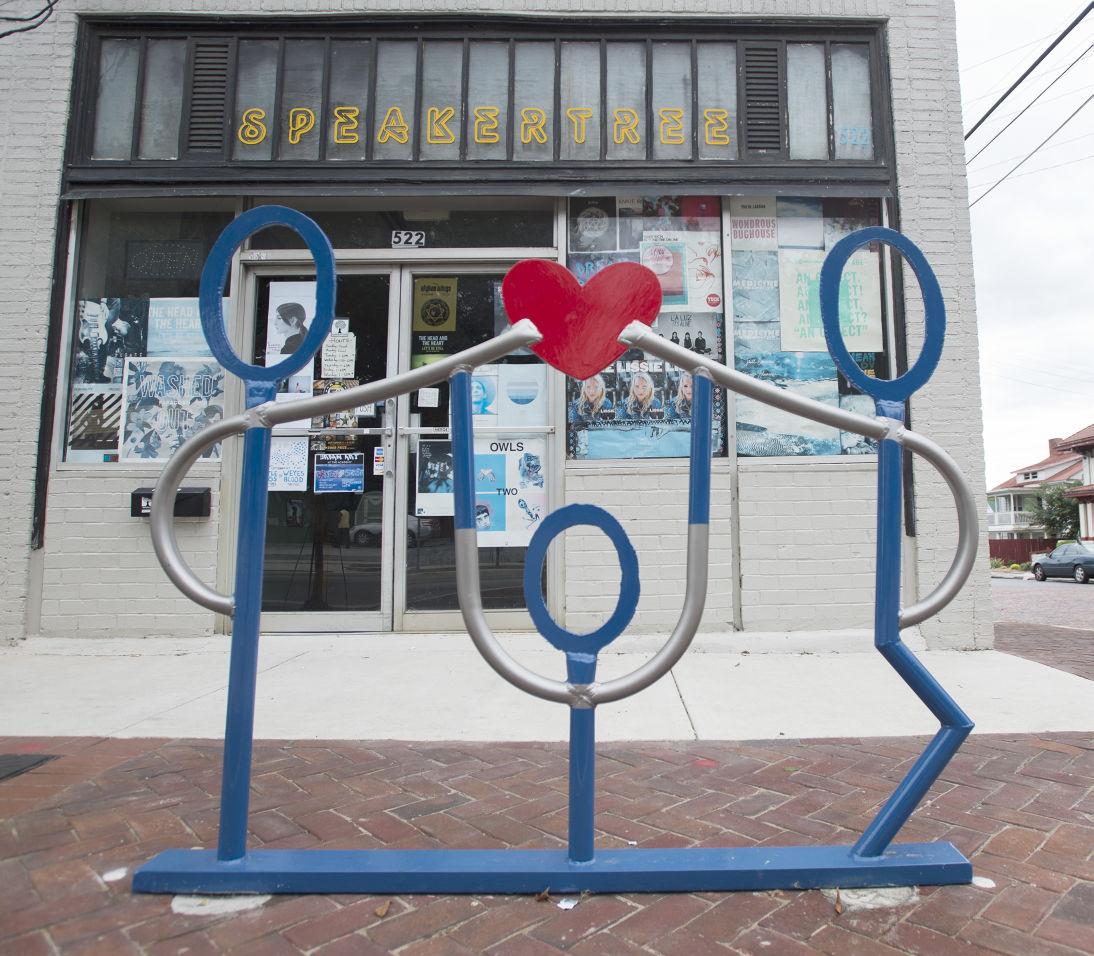 'Artful Bike Racks' Bring Color, Public Art To Downtown
