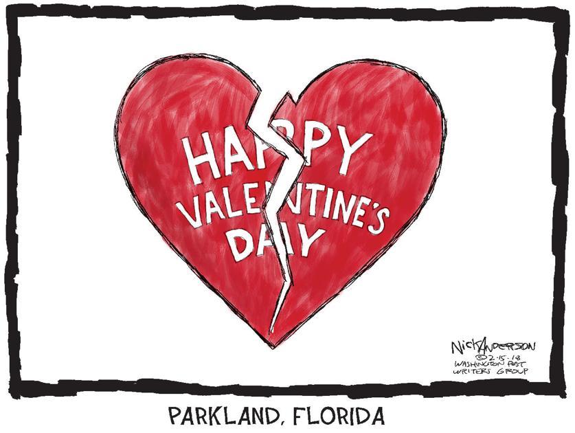 Our broken hearts cartoons newsadvance com