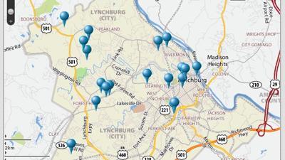 Crime Map   Local News   newsadvance.com on pueblo crime map, topeka crime map, yonkers crime map, east st. louis crime map, iowa crime map, alabama crime map, burlington crime map, dubuque crime map, marysville crime map, regina crime map, utica crime map, kentucky crime map, champaign crime map, richardson crime map, nevada crime map, el paso crime map, poughkeepsie crime map, kankakee crime map, falls church crime map, hoboken crime map,