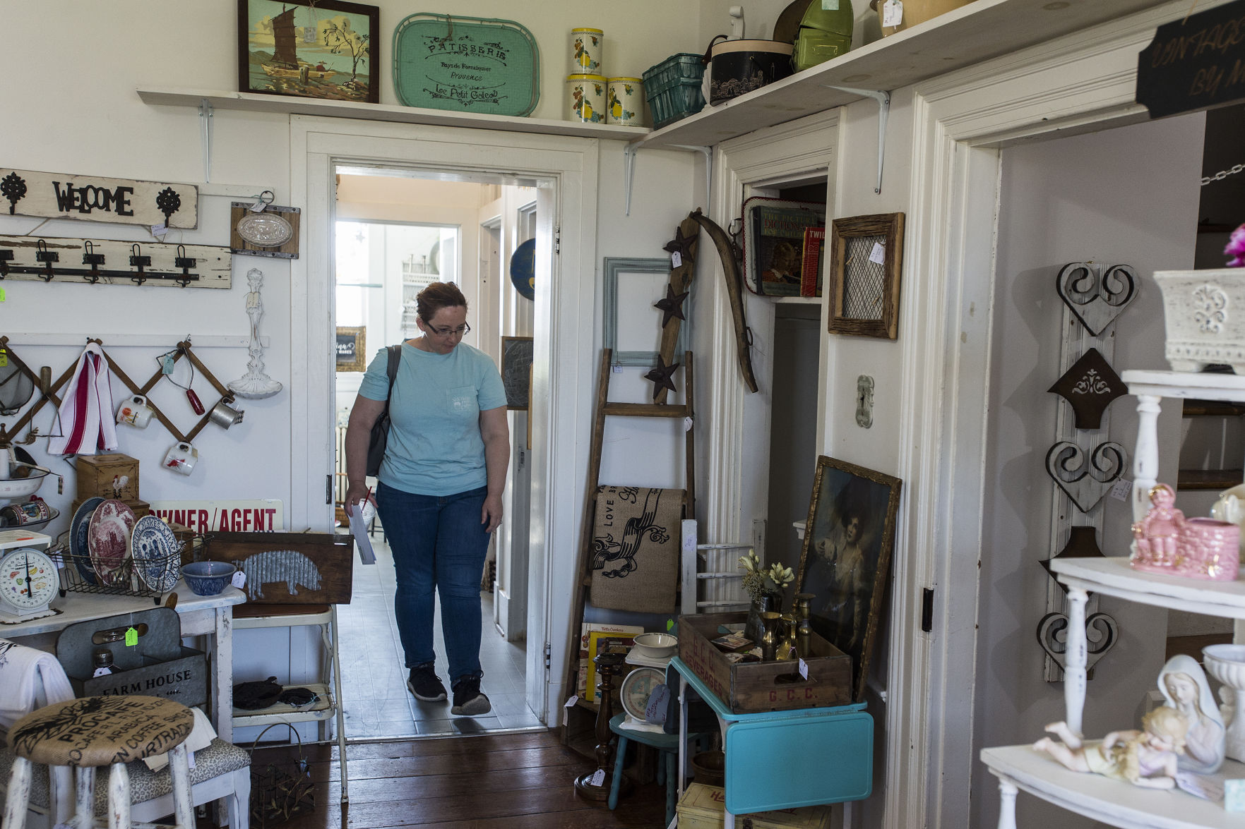 At White Brick House In Forest, Vendors Sell Home Decor In A Historical  Setting