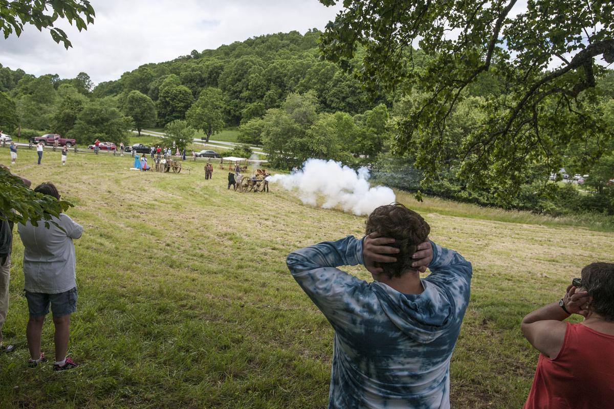 Civil War reenactment captures impact of Hunter's Raid