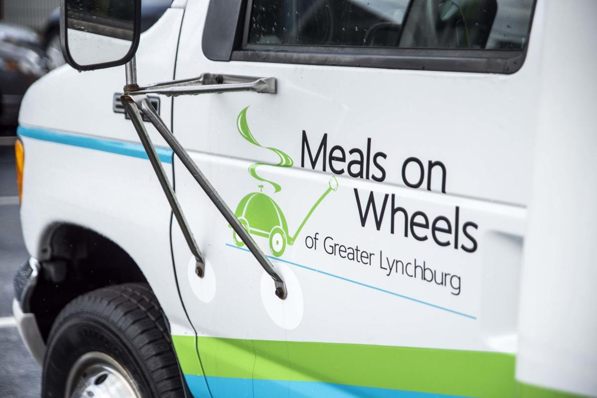 Meals on Wheels new bus
