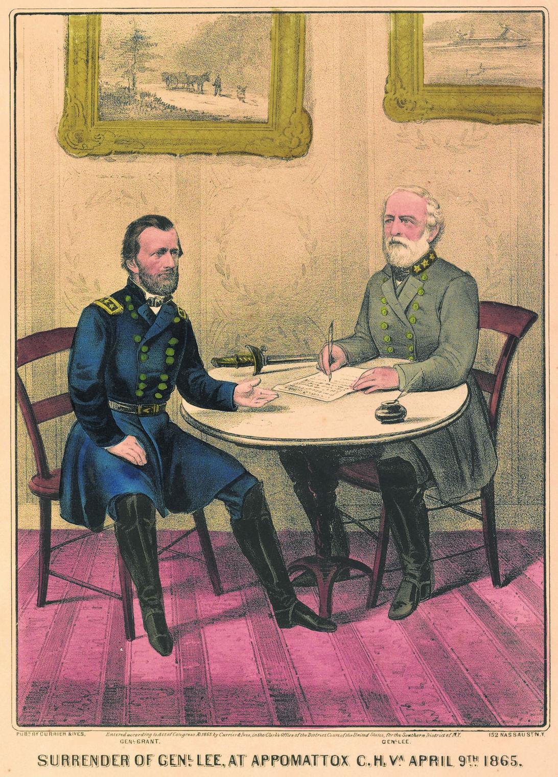 Appomattox 150th April 1865 Retreat Surrender