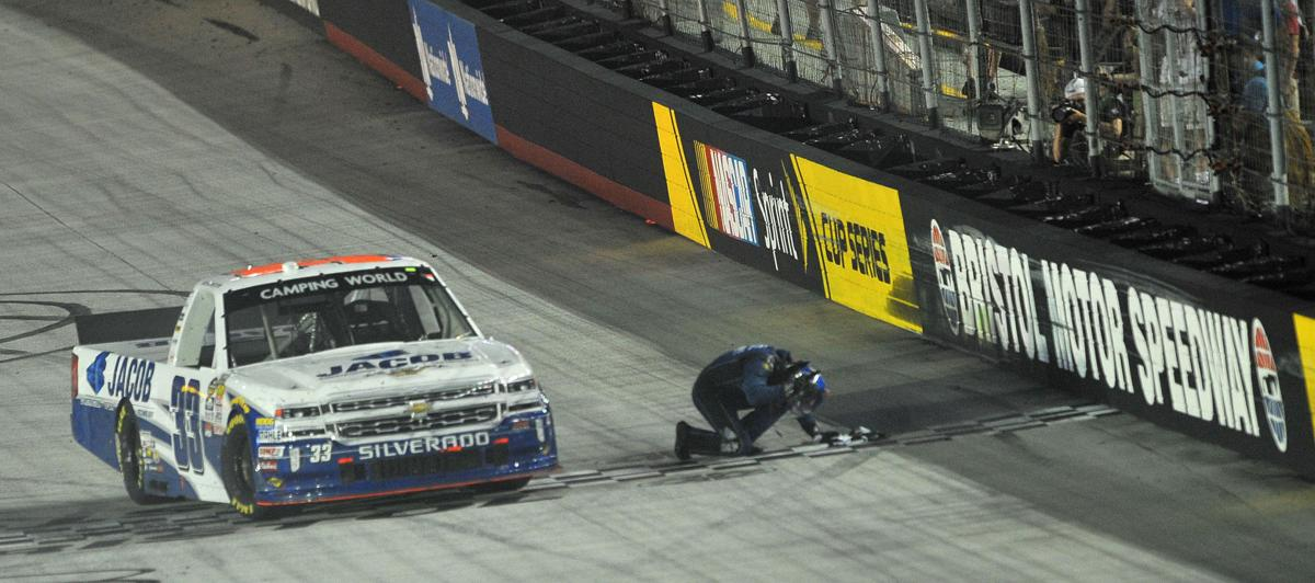 Kennedy wins unoh 200 auto racing for Camping bristol motor speedway