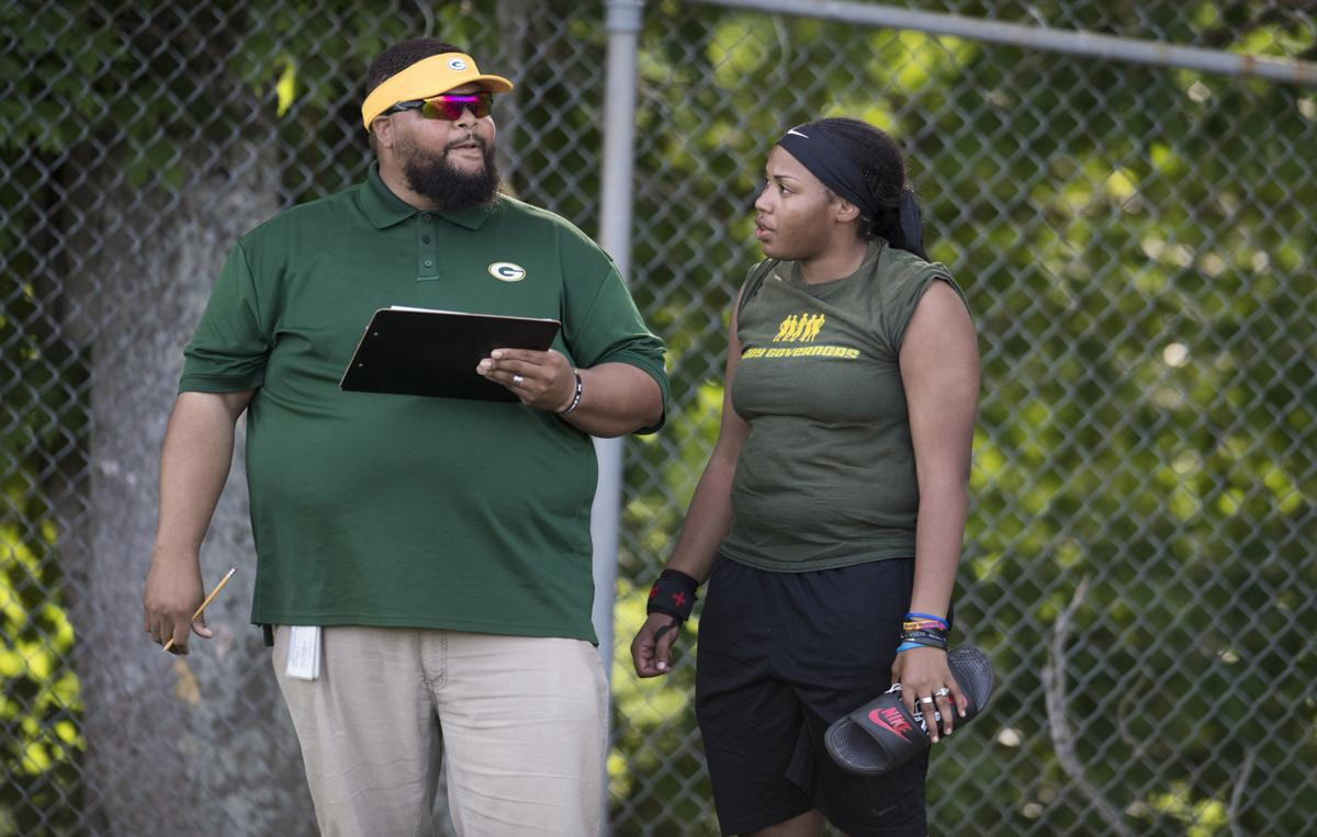 Assistant Nelson County High School track coach's love of the game shines