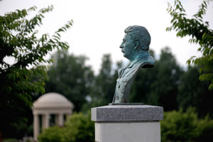 Stalin Bust Installed At D Day Memorial