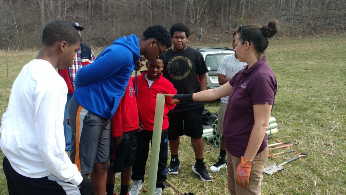 Danville youth club members volunteer in Amherst | News