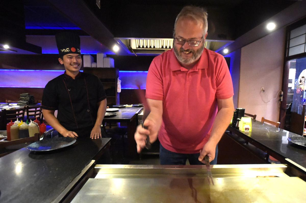 Reporter Shannon Keith learns about Hibachi 09