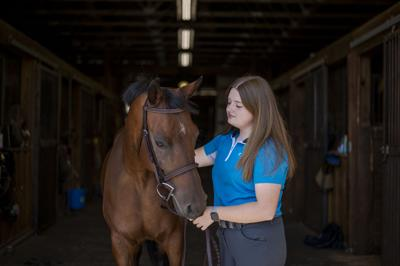 The ride of a lifetime: Amherst teen active in horse competitions, shows