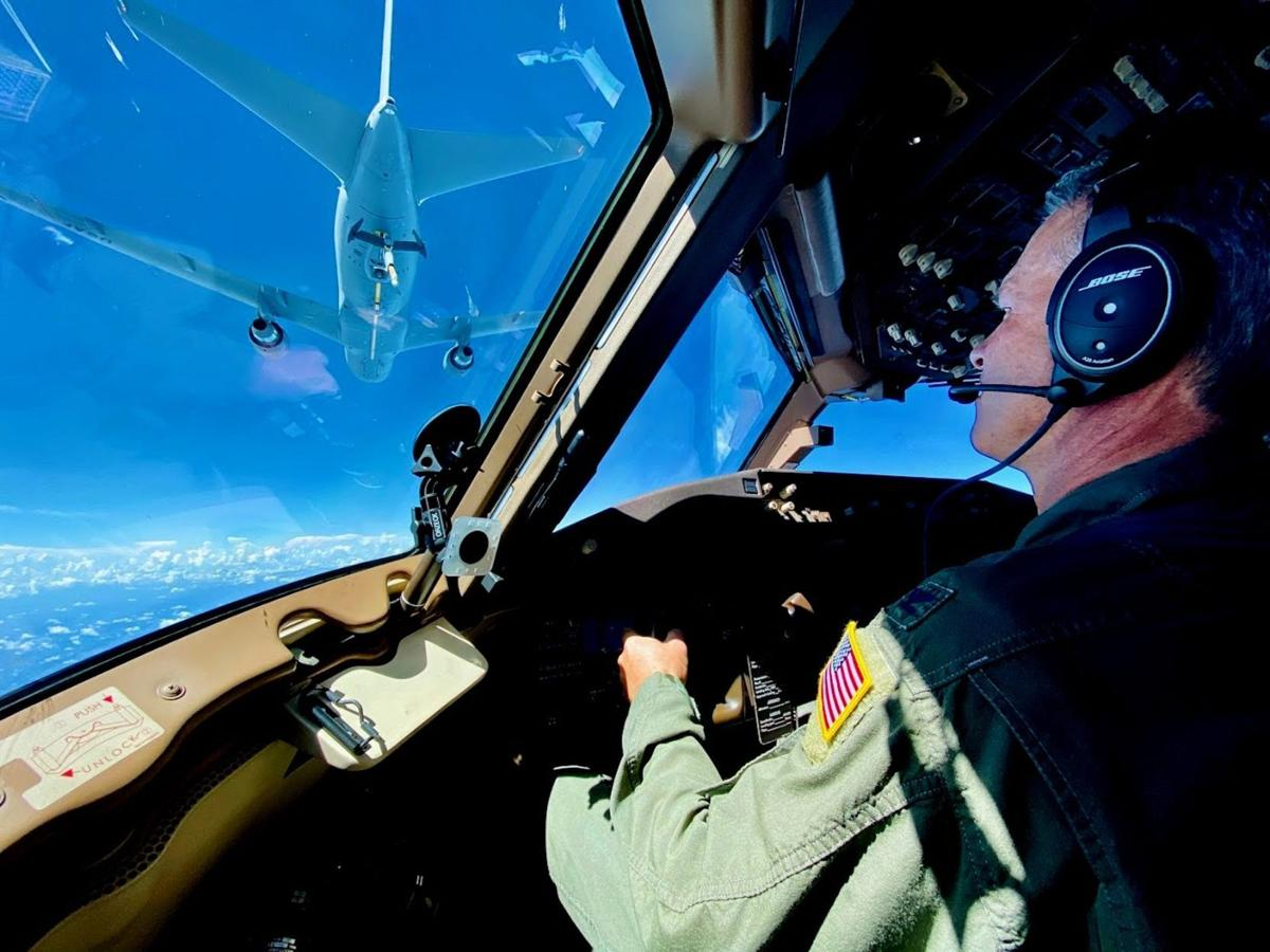 Lanier flying