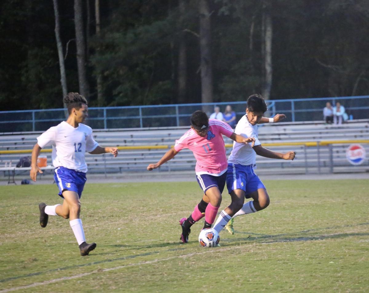 C.B. Aycock soccer