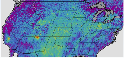 Four Corners Methane Map