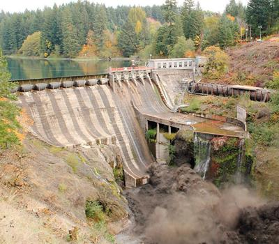 Condit Dam Demolition