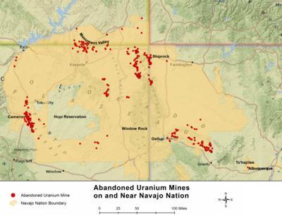 Navajo Nation Uranium Sites